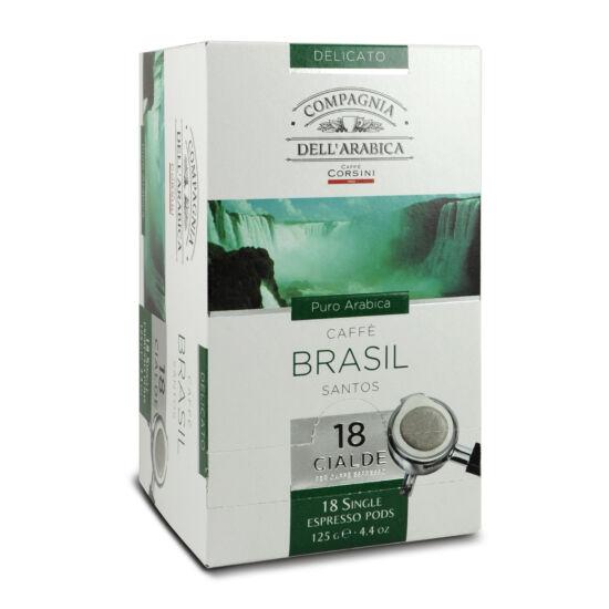 Compagnia Dell'Arabica Caffé Brasil Santos kávé pod, 18db
