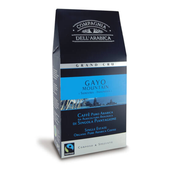 Caffé Grand Cru Gayo mountain őrölt kávé, 250g