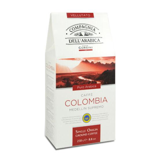Compagnia Dell'Arabica Caffé Colombia Medellin Supremo őrölt kávé, 250g