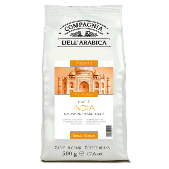 Caffé India Monsooned Malabar szemes kávé, 250g