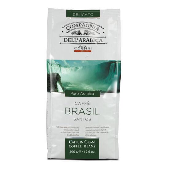Caffé Brasil Santos szemes kávé, 250g