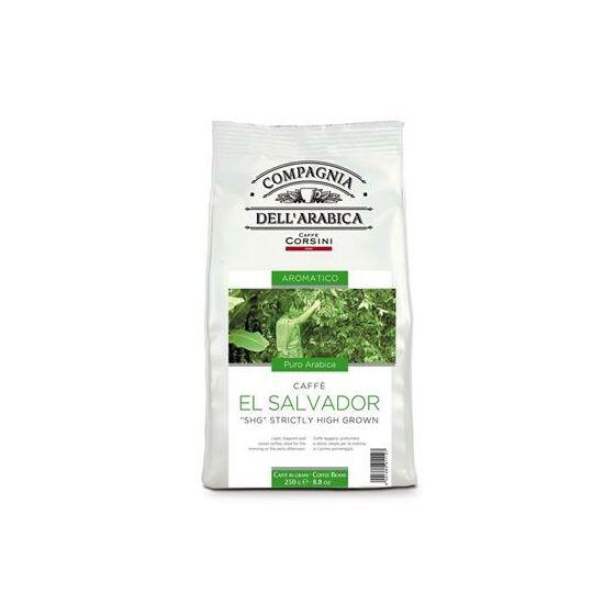 """Caffé El Salvador """"SHG"""" Strictly High Grown szemes kávé, 250g"""