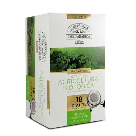 Caffé Puro Arabica  Biologico kávé pod, 18db