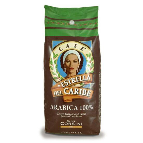 Caffé Corsini Estrella del Caribe szemes kávé, 1000g