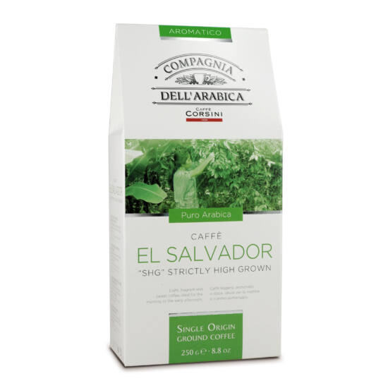 "Caffé El Salvador ""SHG"" Strictly High Grown őrölt kávé, 250g"