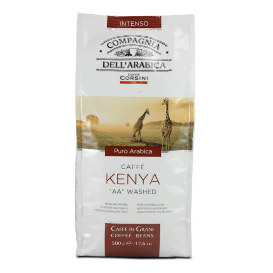 "Compagnia Dell'Arabica Caffé Kenya ""AA"" washed szemes kávé, 250g"