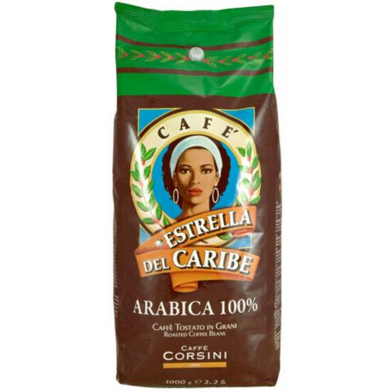 Caffé Corsini Stella del Caribe őrölt kávé TIN, 250g