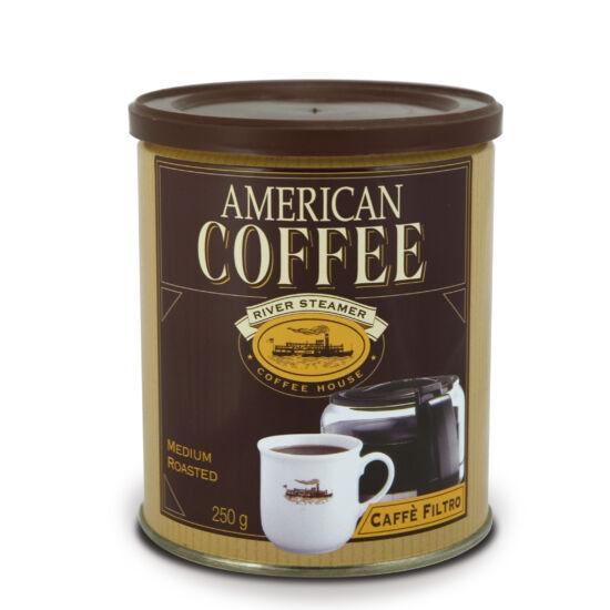 Caffé Corsini American Coffee őrölt kávé TIN 250g