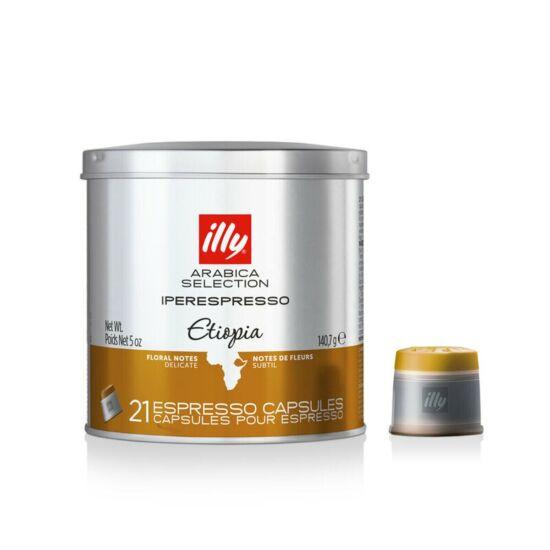 Illy IPER espresso kávékapszula, MonoArabica Etiópia, 21 adag