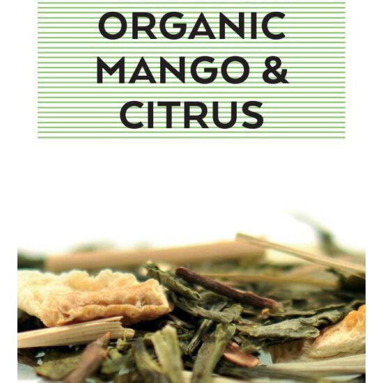 Johan & Nyström Organic Mango & Citrus, ízesített zöldtea