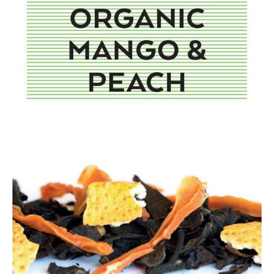 johan & nyström Organic Mango & Peach, fekete tea