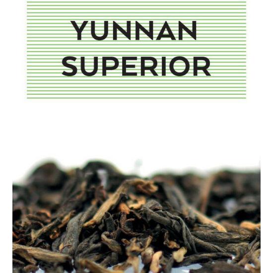 Johan & Nyström Yunnan Superior, fekete tea