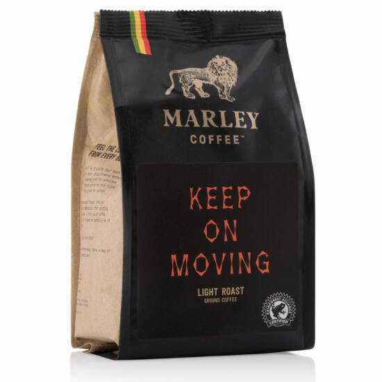 Marley Coffee Keep On Moving szemes kávé227g