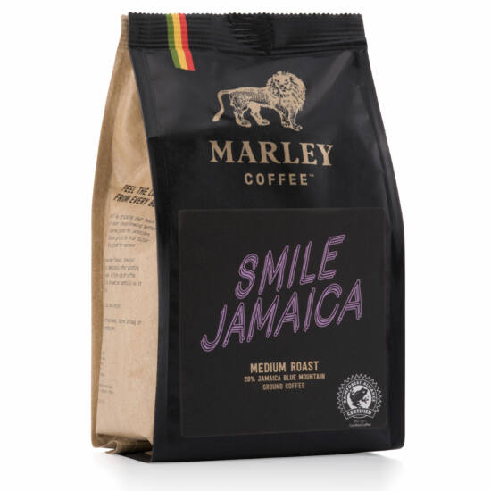 Marley Coffee Smile Jamaica szemes kávé 227g