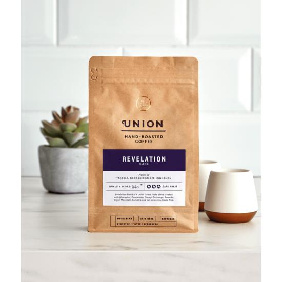 Union Hand Roasted  Revelation espresso őrölt kávé 200g
