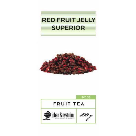 johan & nyström Red Fruit Jelly Superior Gyümölcs tea