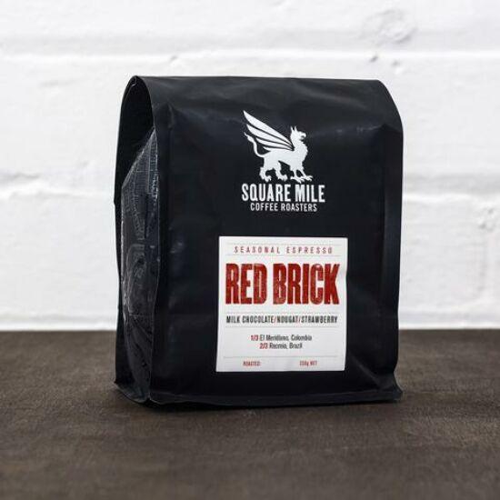 Square Mile Red Brick – blend Costa Rica/Ethiopia eszpresszó