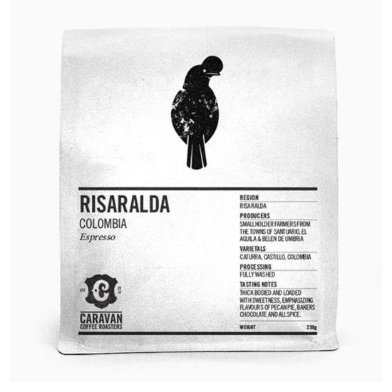 Caravan Coffee Roaster Risaralda Colombia 250g szemes kávé