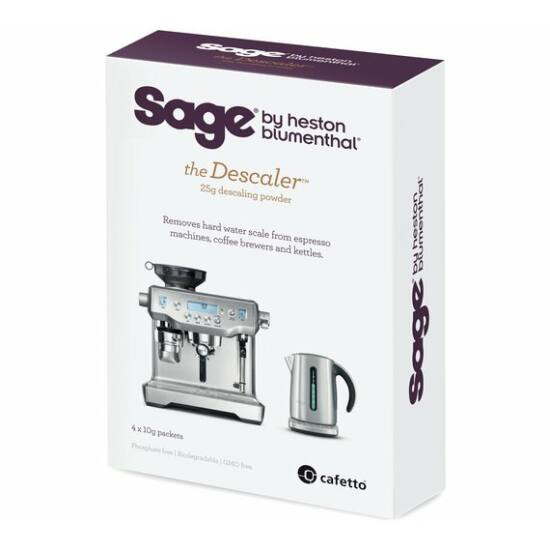 Sage BES007 vízkőoldó por 4x10g