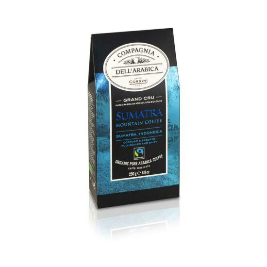 Compagnia Dell' Arabica Grand Cru Sumatra Gayo Mountain Nespresso kompatibilis kávékapszula, 10 db