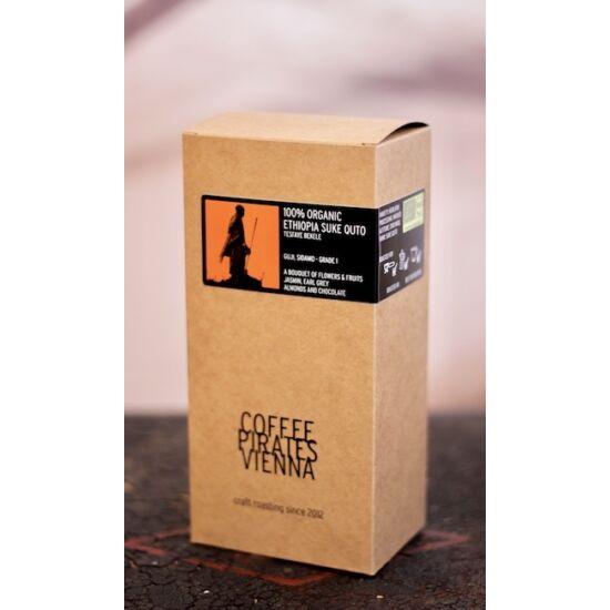 Coffeepirates 100% Organic Ethiopia Suke Quto 250g