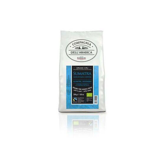 Compagnia DEll Arabica Caffe Gran Cru Sumatra Bio Fairtrade szemes kávé  250g