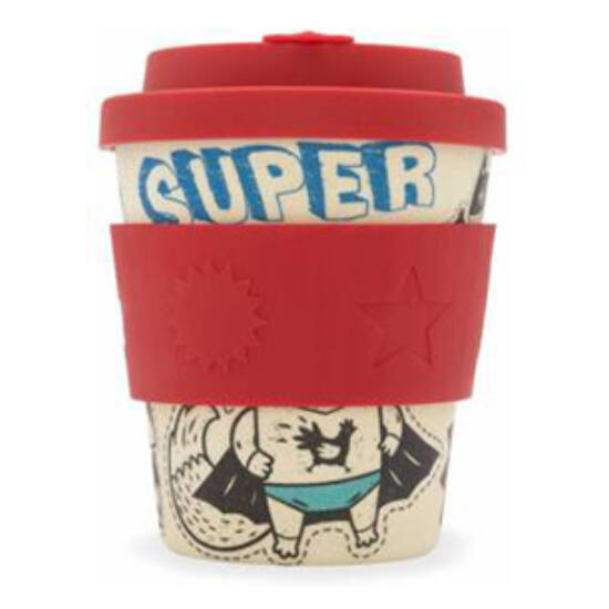 Ecoffee Cup, Superhero kávéspohár, 250ml