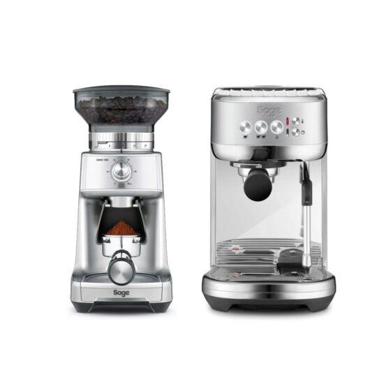 Sage Kávéfőző + Örlő csomagajánlat II.