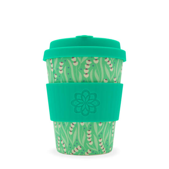 Ecoffee Cup hordozható kávéspohár - Tiny Garden Amstel -340ml