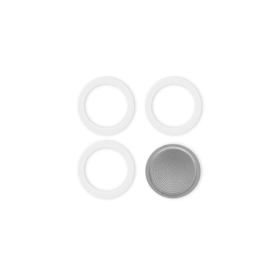 Bialetti Tömítés 3db + 1db szűrő Moka Express 2 cup