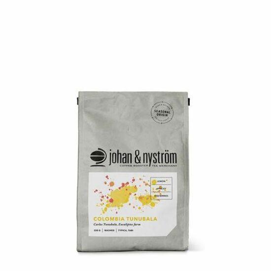 johan & nyström Colombia Tunubala szemes kávé, 250g