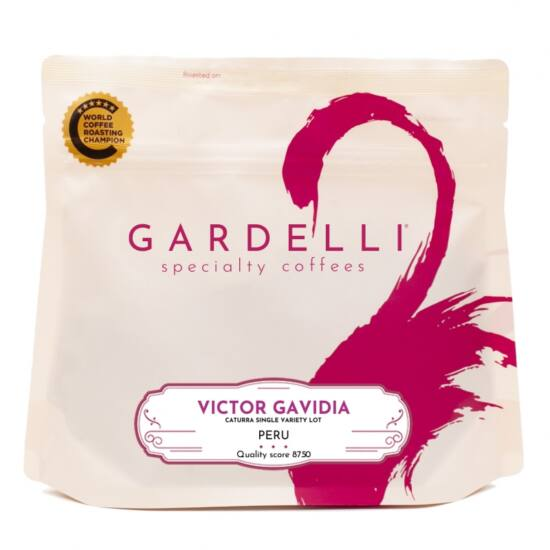 Gardelli Victor Gavidia Peru 250g szemes kávé