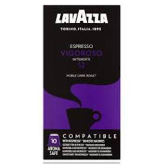Lavazza Vigoroso Nespresso kompatibilis kávékapszula, 10 db
