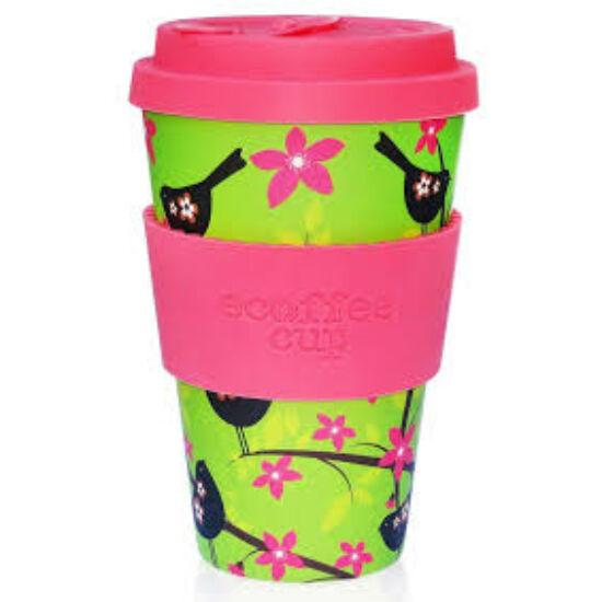 Ecoffee Cup, Widdlebirdy kávéspohár, 400ml